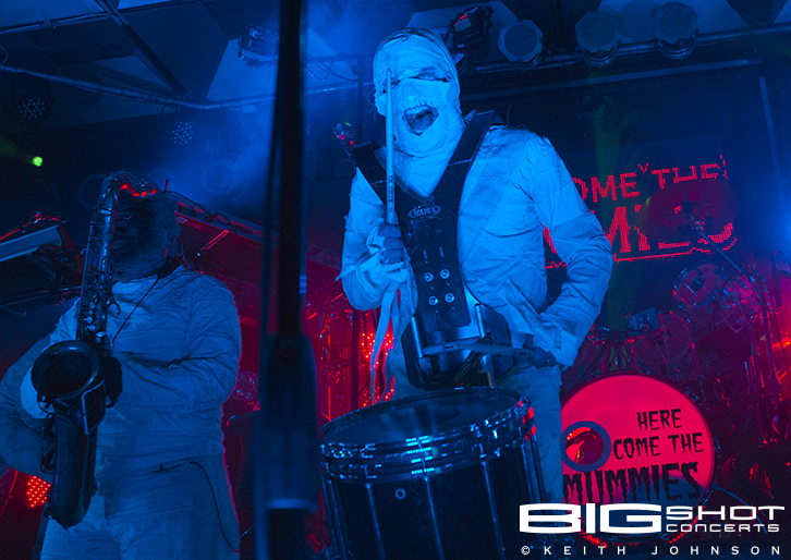 Here Come The Mummies Concert | Big Shot Concerts