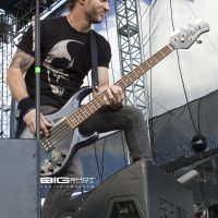 Brian Marshall of Alter Bridge at Fort Rock 2017