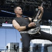 Mark Tremonti of Alter Bridge performs during Fort Rock 2017