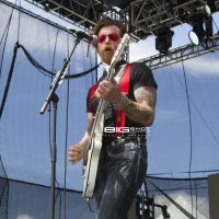 Jesse Hughes of Eagles Of Death Metal at Fort Rock 2017