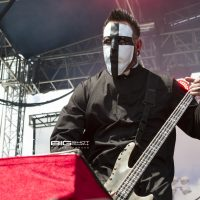 Travis Johnson of In This Moment Fort Rock 2017