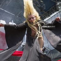 Maria Brink of In This Moment Fort Rock 2017