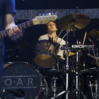 Train drummer Chris Culos