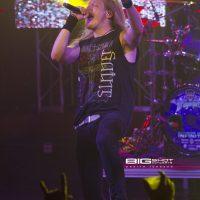 DragonForce singer Marc Hudson
