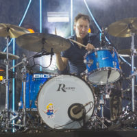Drummer Jim Bogios of Counting Crows