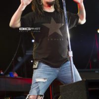 Singer Adam Duritz of Counting Crows