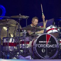 Chris Frazier of Foreigner