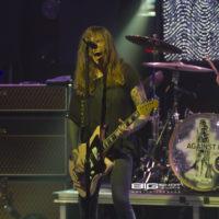 Against Me! guitarist/vocalist and drummer