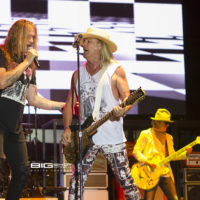 Cheap Trick performs with Sebastian Bach during RockFest 80s