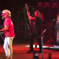 Sammy Hagar and Michael Anthony of The Circle