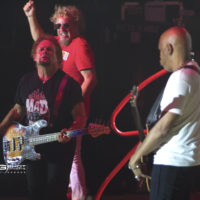Sammy Hagr, Michael Anthony and Vic Johnson of The Circle