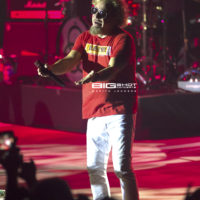The Red Rocker, Sammy Hagar, performs with The Circle